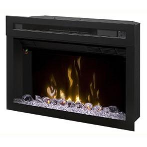 """Dimplex 25"""" Multi-Fire XD Electric Firebox w/Acrylic Ice"""