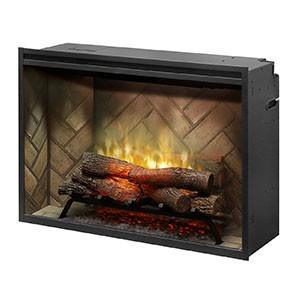 "Dimplex Revillusion 36"" Built-in Firebox"