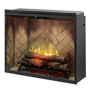 """Dimplex Revillusion 36"""" Portrait Built-in Firebox"""