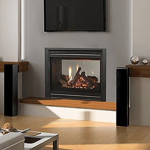 Heat & Glo See-Through ST36 Gas Fireplace