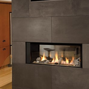 Valor Linear L1 2-Sided Gas Fireplace